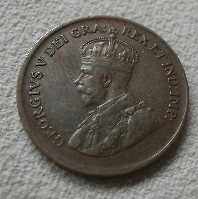 1930 Canada Canadian small cents one cent penny coin