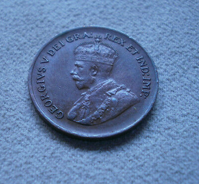 1932 Canada Canadian small cents one cent penny coin