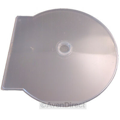 100 Pack New Clear Clam Shell CD DVD Clamshell Poly Movie Case [FREE SHIPPING]