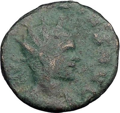 CLAUDIUS II Gothicus 268AD  Ancient Roman Coin Victory Nike Angel RARE i33038