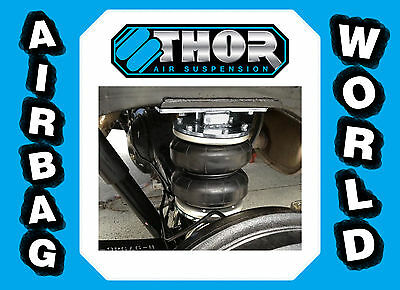 To suit Holden Rodeo RA - Thor Airbags/Load Assist Suspension Kit