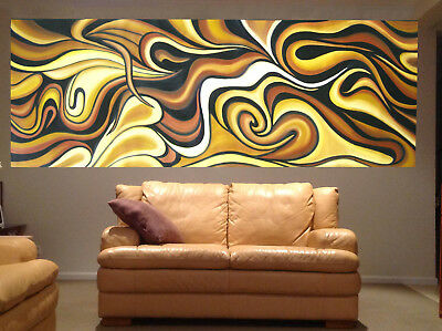 Massive art oil painting original non aboriginal landscape abstract modern