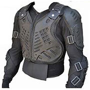 Motocross Dirt bike body armour Chest BMX ATV Quad downhill Adult & Youth peewee