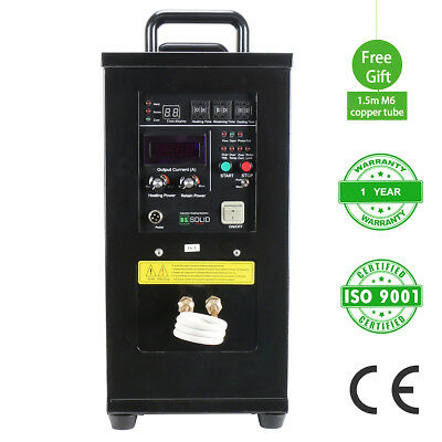 15KW 30-80 KHz High Frequency Induction Heater Furnace LH-15A 110-140 V 1 Phase