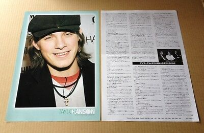 2005 Hanson 3pg 3 photo JAPAN mag article / pinup / clippings cuttings