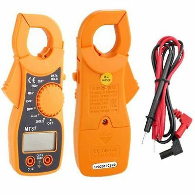 New Digital LCD Clamp Ampere Voltage Current AC/DC OHM Tester Multi-Meter Tester
