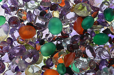 100+ CARATS OF MIXED NATURAL GEMSTONES + SILVER GOLD RUBIES SAPPHIRES EMERALDS