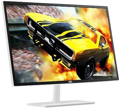 "AOC E2770SH 27"" LED LCD Computer Monitor 2MS Full HD 1080P HDMI DVI VGA Speaker"