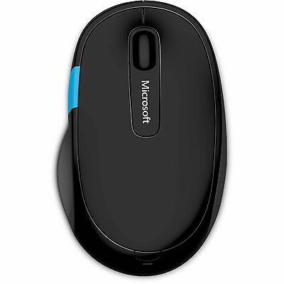 Microsoft Sculpt Comfort Ergonomic Wireless Bluetooth Optical Mouse for Windows