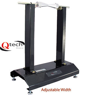 Motorcycle WHEEL BALANCER by Qtech Stand Track Day PORTABLE