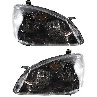 Headlight Set For 2005-2006 Nissan Altima Left and Right HID 2Pc