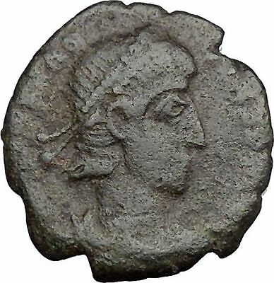 CONSTANTIUS II Constantine the Great  son Ancient Roman Coin  Horse man i33250