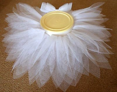 "Baby/Toddler Pretty as a flower Fairy Tutu. Elasticated Waist 15"" up to 30"""