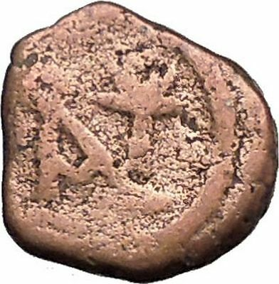 Anastasius I 491AD Ancient Medieval Byzantine Coin Monogram in Circle i33327