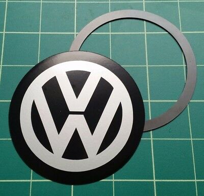Magnetic Tax Disc Holder fits VW silver logo