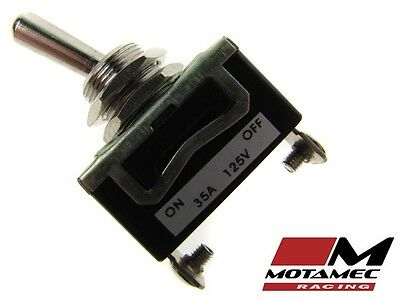 Motamec Racing Heavy Duty Toggle Switch 35 Amp On/Off - Race Rally Car