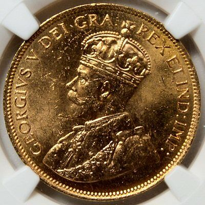 1914 Canada $10 Gold * Bank of Canada Hoard * NGC MS64 * High Grade Beauty