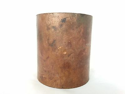 """NIBCO 2 ½"""" Copper Coupling with dimple stop C x C WROT"""