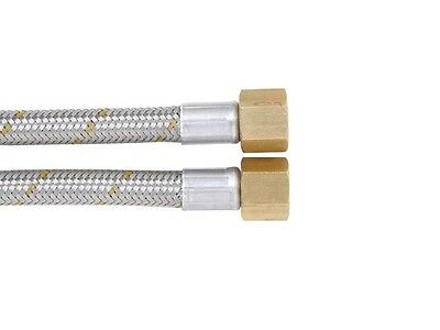 Stainless Steel Braided Gas Hose Oven 1200mm long