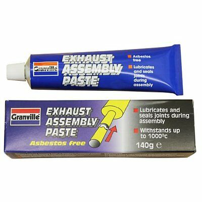 GRANVILLE EXHAUST ASSEMBLY PASTE 140g - PROVIDES GAS TIGHT SEAL & LUBRICATES