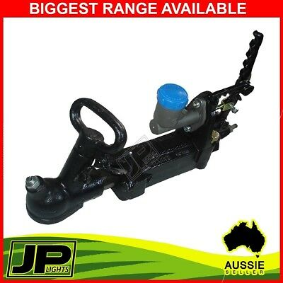 "Hydraulic Override Hitch Trailer Coupling 3/4"" Master Cylinder Bracket 2000kg"