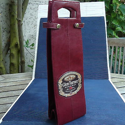 Etui Bouteille Glen Turner Scotch Whisky 18 Ans Fabrication Luxe  32 x 10 Cm Col