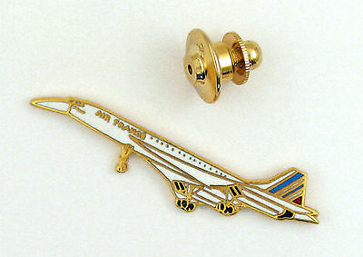 Pin's pin badge ♦ AVION CONCORDE AERONAUTIQUE AIRCRAFT TRANSPORT CIVIL EMAIL