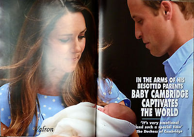 HELLO MAGAZINE ROYAL BABY SOUVENIR EDITION PRICE GEORGE WILLIAM AND KATE