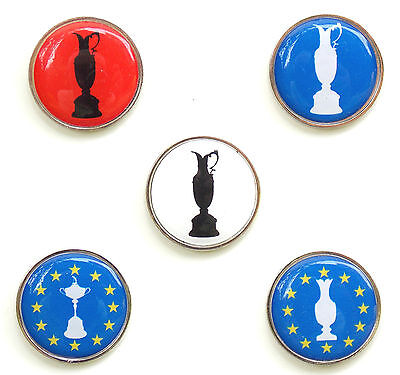 Major Trophy Golf Ball Markers