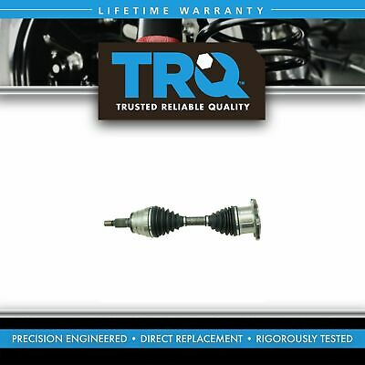 TRQ Front CV Joint Axle Shaft NEW for Chevy GMC Pickup Truck 4x4 4WD