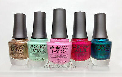 MORGAN TAYLOR -Professional Nail Lacquer Series 2 - Pick Any Color