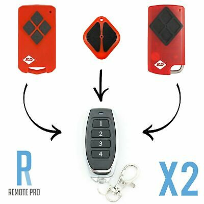 2 x B&D Tritran Garage Control-A-Door BND/TB5/BD4/Diamond Remote Replacement