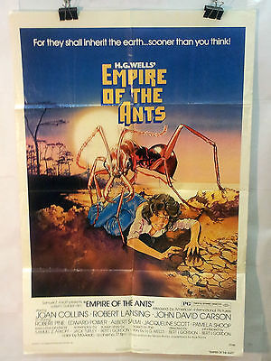 Movie Poster 1977 H.G. Well's Empire Of The Ants Joan Collins    12