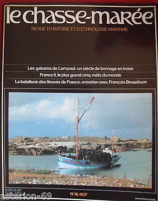 Chasse-Maree N°16 1985 Gabares Lampaul Le France Ii