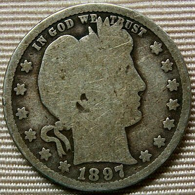 1897-O Barber Quarter * Better Date Coin * Nice and Original