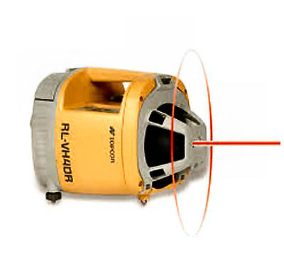 Topcon RL-VH4DR GC Red Beam Self-Leveling Laser System with Detector
