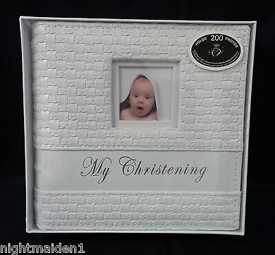 Baby Shower/Gifts/Baptism  - My Christening Rattan Photo Album