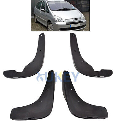 4Pc/set For 01~12 Citroen Xsara Picasso Molded Mud Flap Splash Guard Mudguards