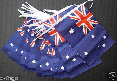 Rugby World Cup Huge 33Ft Australia Day Australian Oz Fabric Flag Bunting