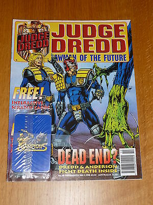 JUDGE DREDD LAWMAN of the FUTURE Comic - No 10  Date 01/12/1995 - UK Paper Comic