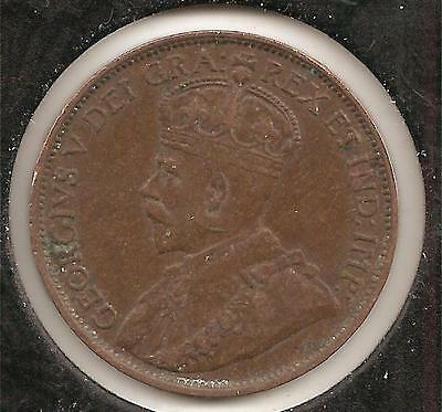 1912 VERY FINE Canadian Large Cent #3