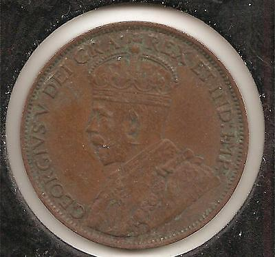 1912 EXTREMELY FINE Canadian Large Cent #1 (corrosion)