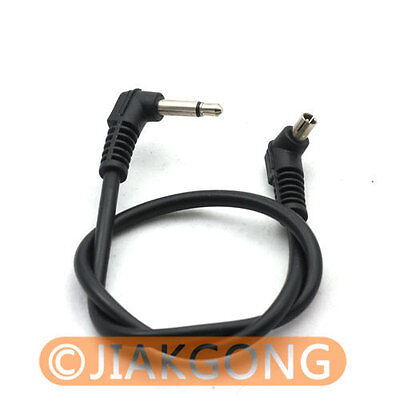 3.5mm to Male PC Sync Cable Cord for Trigger Receiver