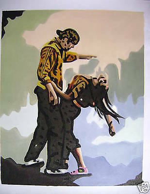 "Step Up 2 Dance 16x20"" OIL PAINTING POP ART"