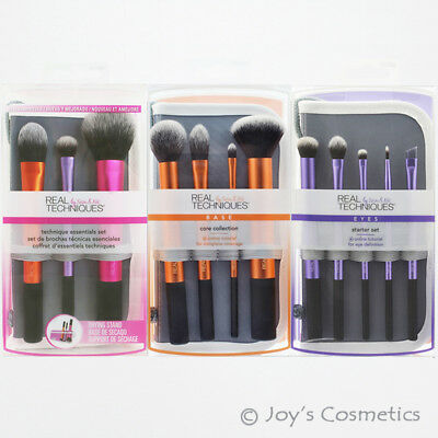 "1 REAL TECHNIQUES Makeup Brush Set  ""Pick Your 1 Type""    *Joy's cosmetics*"