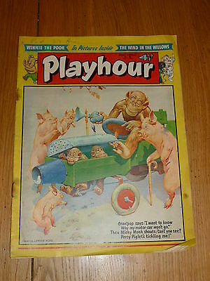 PLAYHOUR - No 38 - (1955) - Date 02/07/1955 - UK Paper Comic