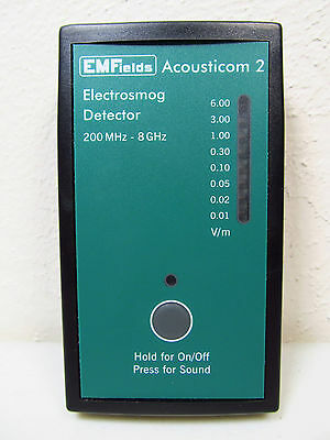 Acousticom 2 RF Meter Small, Portable, Accurate Similar Size as Cornet ED85EXS