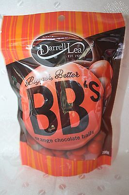 Darrell Lea Bigger & Better Chocolate Orange Balls 200g bag