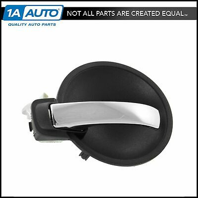 Door Handle Inner Gray & Chrome Front or Rear Driver Side for Charger Magnum New