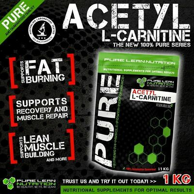 Acetyl L Carnitine Pure Powder 1Kg Alcar * Premium Grade * Laboratory Tested